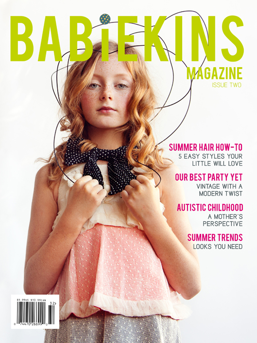 Babiekins Print Issue 2 - Available on newsstands 24 June 2013