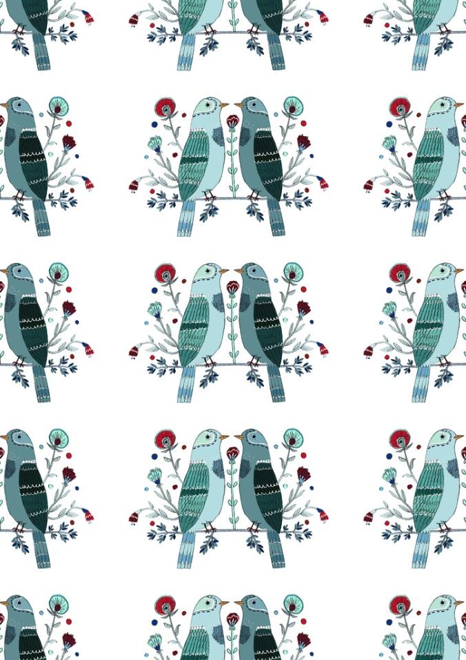 Birds by Lizzy Stewart