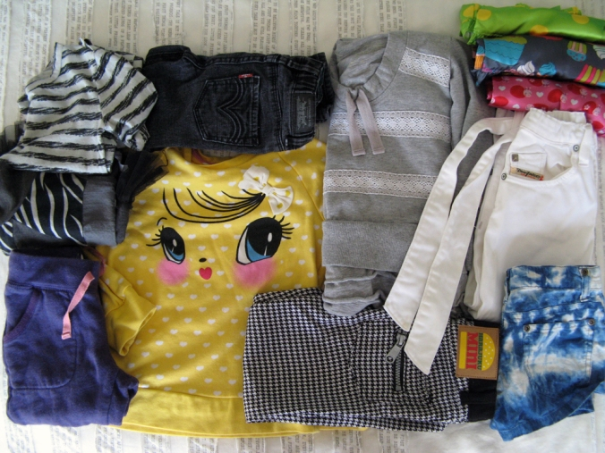 Diesel, Levi's, Naartjie, Harajuku Mini, Mini Boden, Ralph Lauren and H&M clothes for toddler