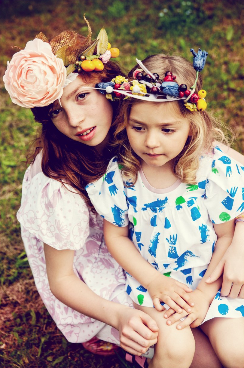 Dress via the Polish children's clothing label Miszkomaszko