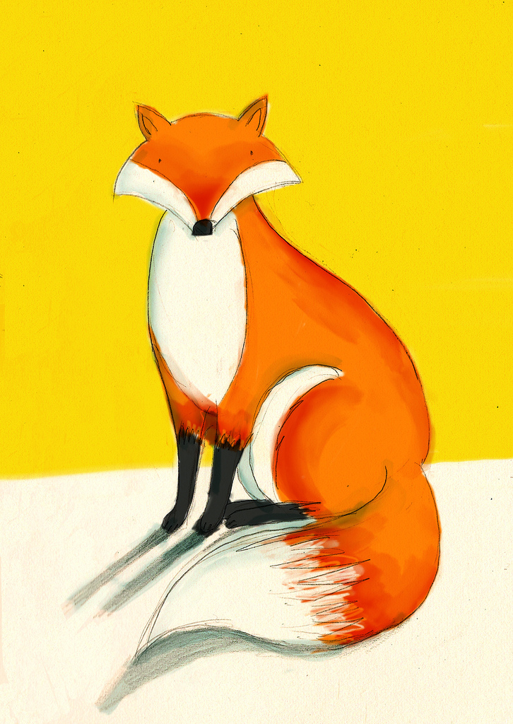 Fox Friend by Lizzy Stewart