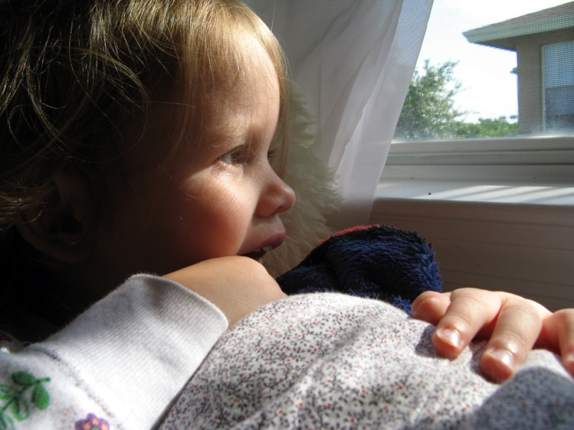 June 2013 - Aveline looking out window