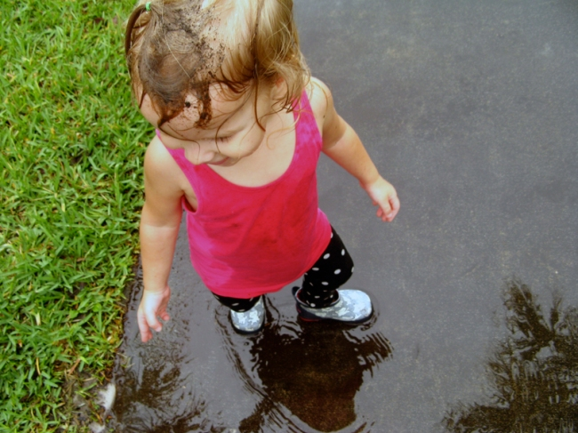 Little girls don't avoid mud puddles (and other daughterly truths) by Oaxacaborn as seen on A Collection of Passions