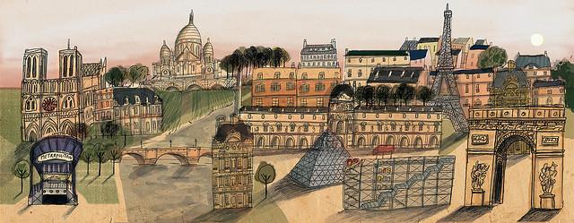 Paris by Lizzy Stewart