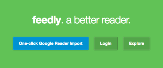 What to use instead of Google Reader