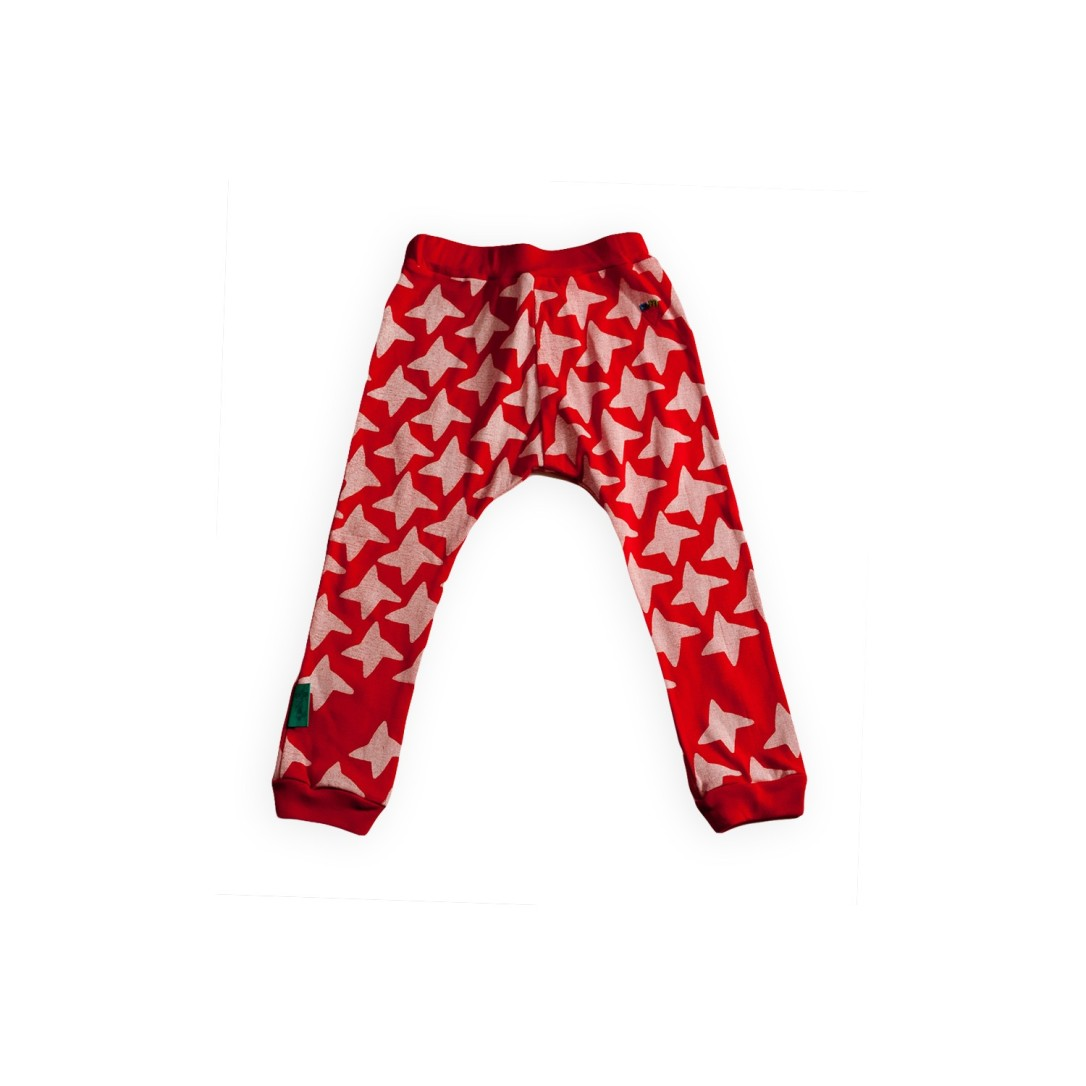 Star Print Pants via the Polish children's clothing brand Miszkomaszko