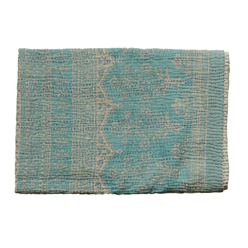 Recycled sari blanket by  JEANETTE FARRIER as seen on 51 Stars Paris