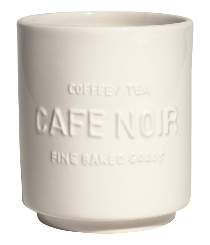 Cafe Noir Mug via H&M Home