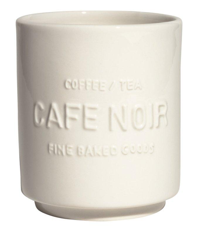 Cafe Noir Mug via H&M Home