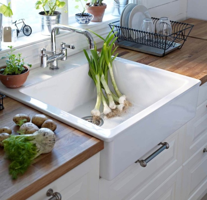 Plants in Kitchen via Ikea Kitchen Dreambook