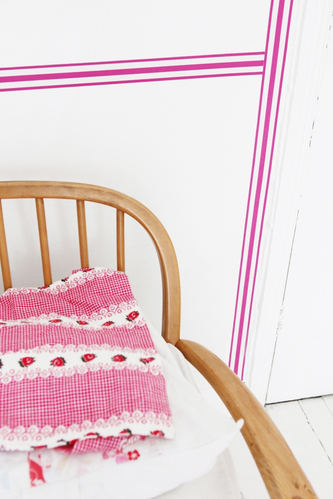 Rose Petal Colour Band  from my new collection of wallpaper borders - Jane Cumberbatch Pure Style Online