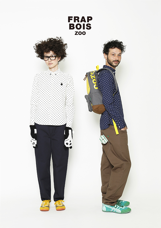 4 - Japanese fashion label Frapbois - Autumn Winter 13 14