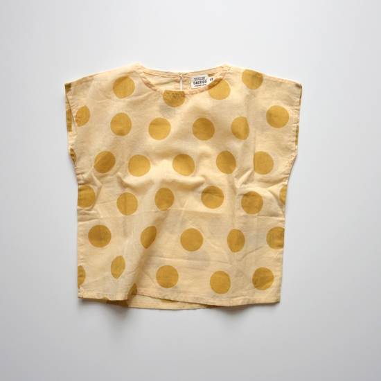 CC1 Square Blouse via Yarnmade Sweden's Cactico line