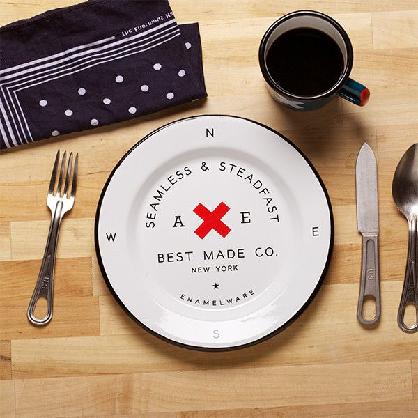 Enamelware plates from Best Made Co