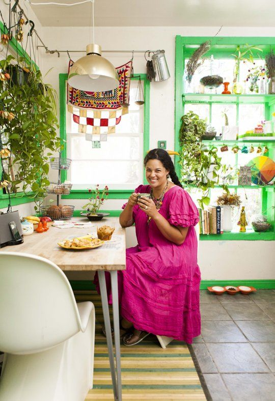 Justina Blakeney kitchen tour on the Kitchn