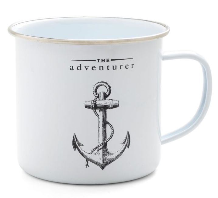 The Adventurer Mug - an Anchor Mug - from ModCloth