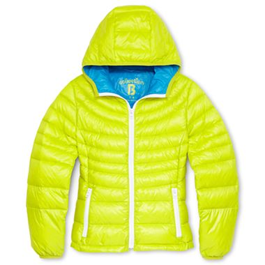 LITTLE STYLE :: 5 Outerwear Options for Little Girls :: Collection B® Packable Down Jacket - Girls 4-16
