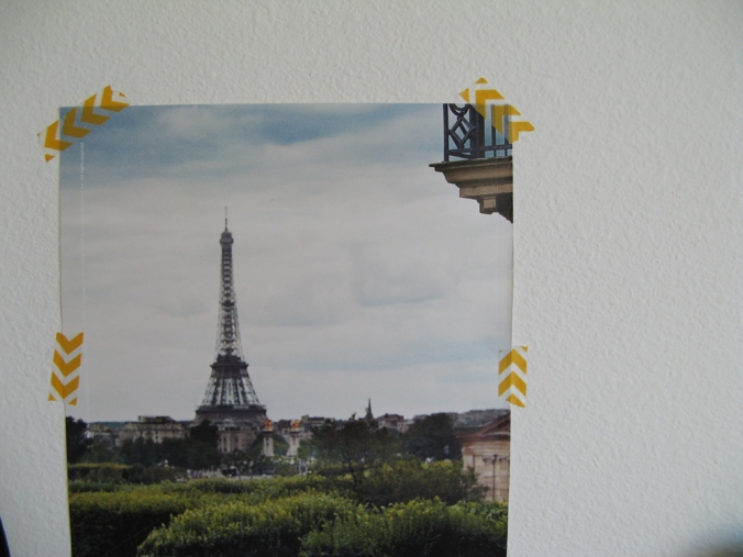 Eiffel Tower and Washi Tape