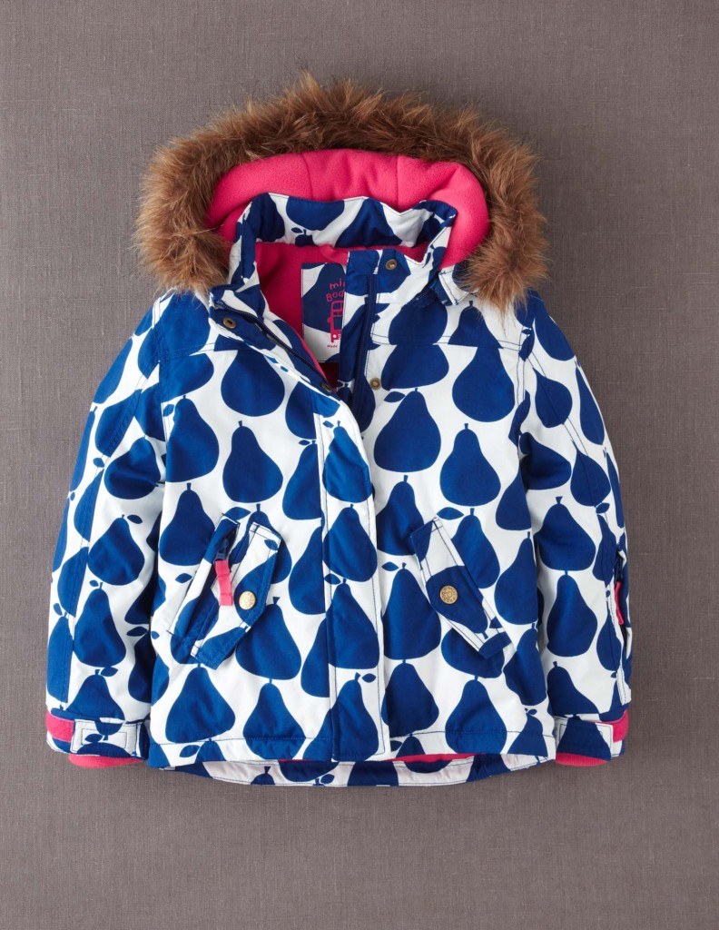 LITTLE STYLE :: 5 Outerwear Options for Little Girls :: Mini Boden Ski Jacket