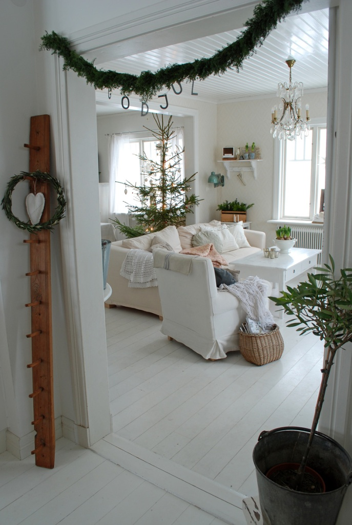 Swedish Christmas via vitaranunkler