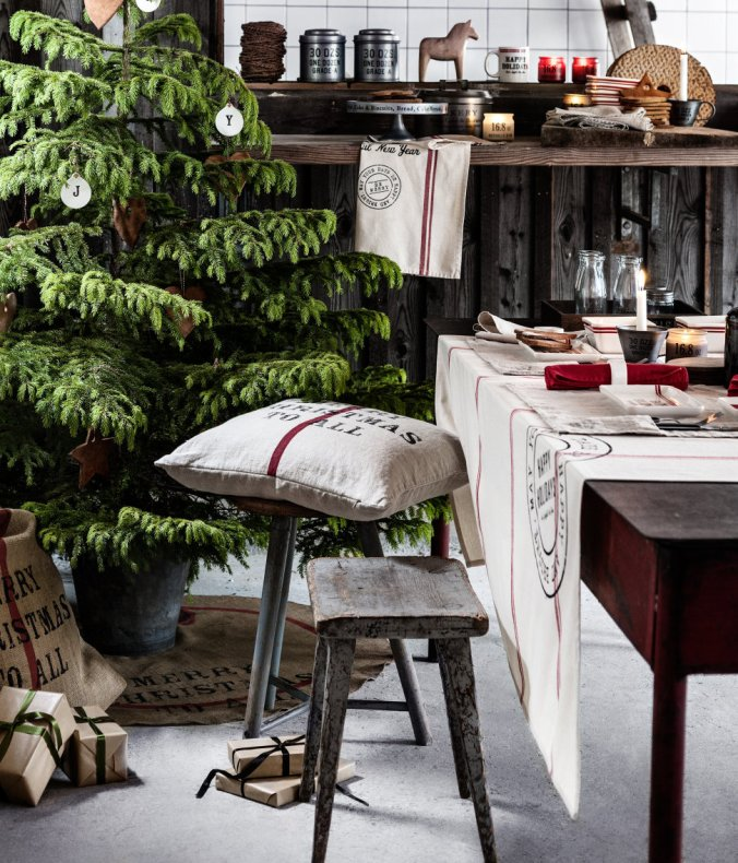 6 - H and M Home goods - Swedish Scandinavian Christmas