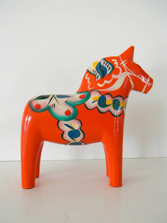 Dala Horse via Monki Vintage