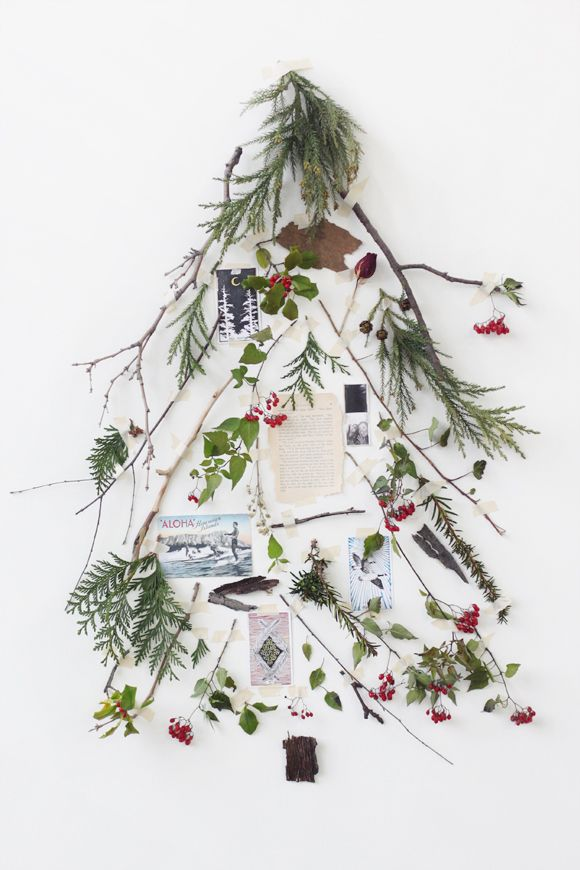 Deconstructed Christmas tree via Free People