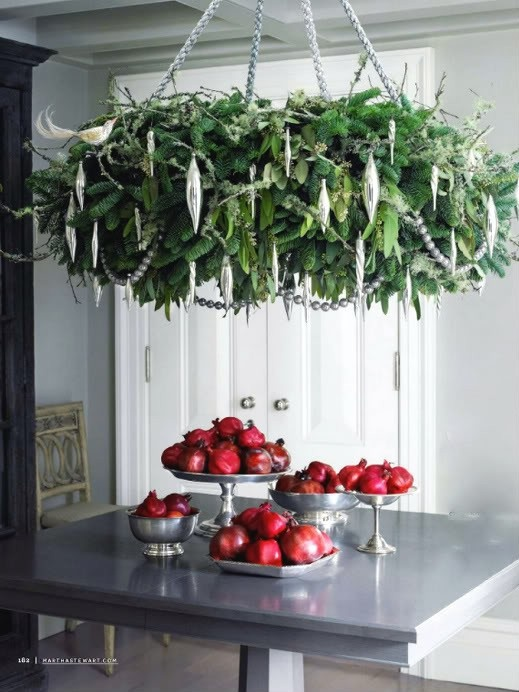 Martha Stewart's Cedar Wreath Chandelier