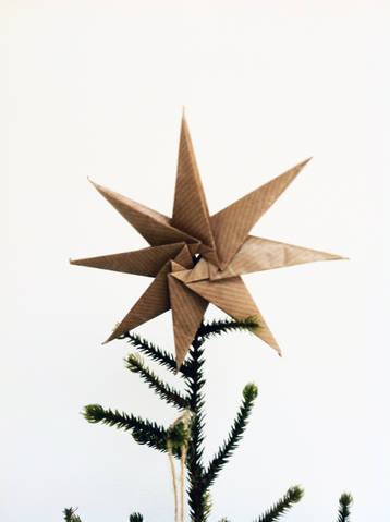 Paper star DIY