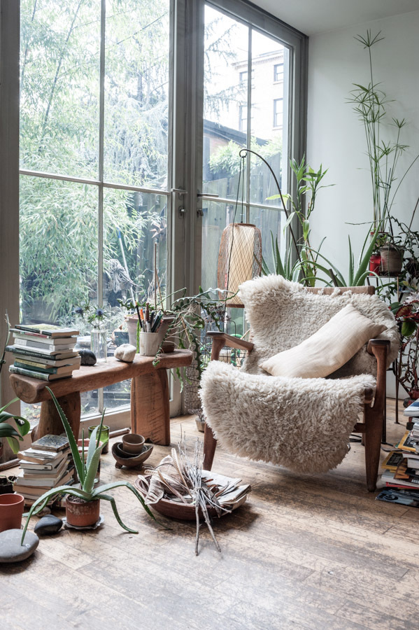 The home of designer Maria Cornejo and photographer Mark Borthwick