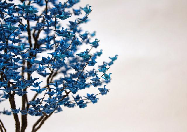naoki onogawa's paper crane trees