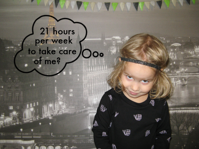 Study says parents spend 21 hours per week actively parenting their children. This blogger says, HA HA HA HA
