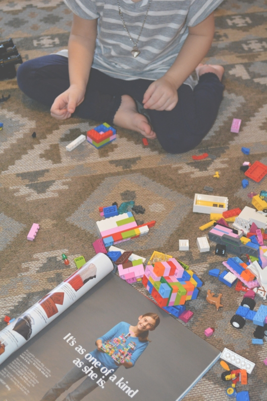 New Legos are not harming little girls. Pink is just a color