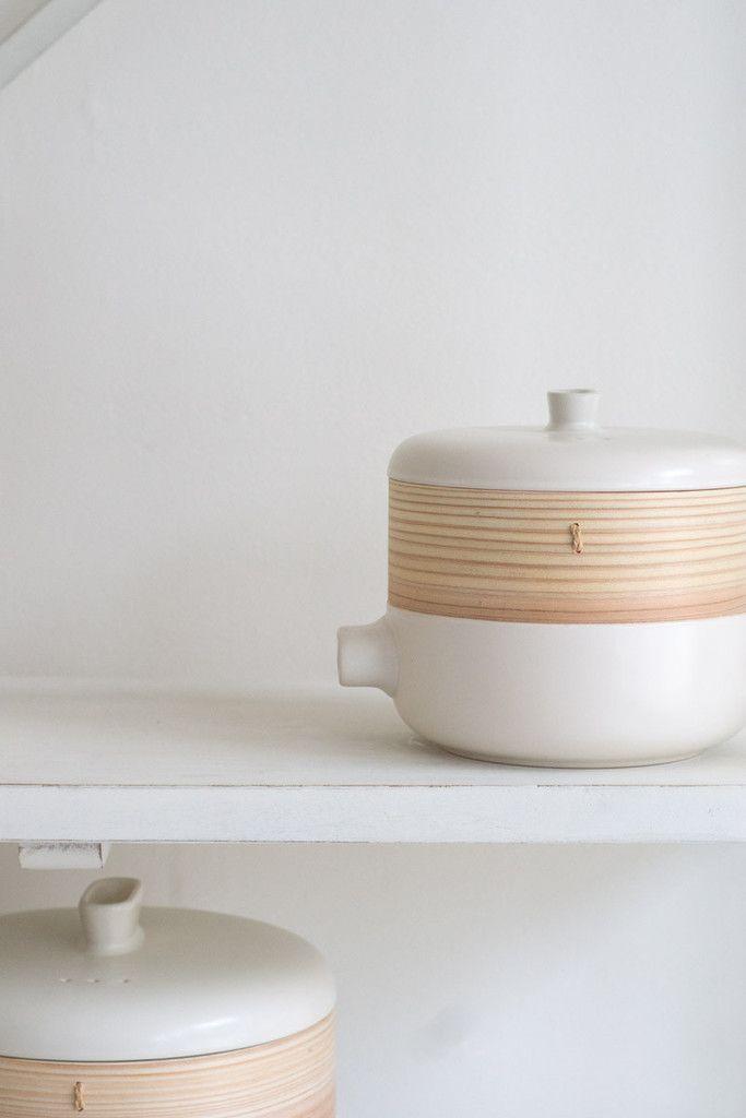 quitokeeto Modern Bamboo Steamer