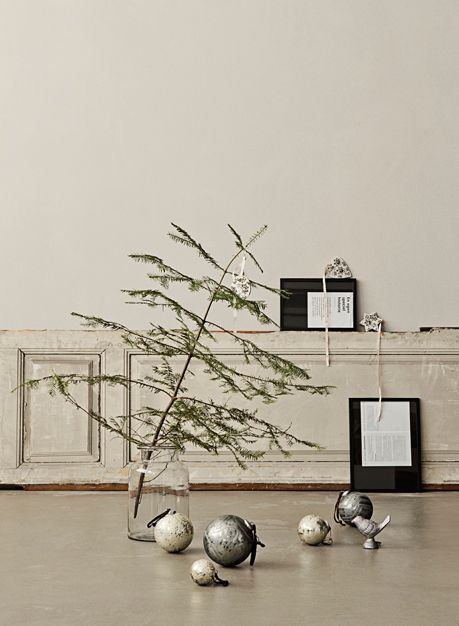 waltherogco_dk on Oaxacaborn's MONDAY'S PRETTY THINGS :: Decorating with Christmas Tree Branches