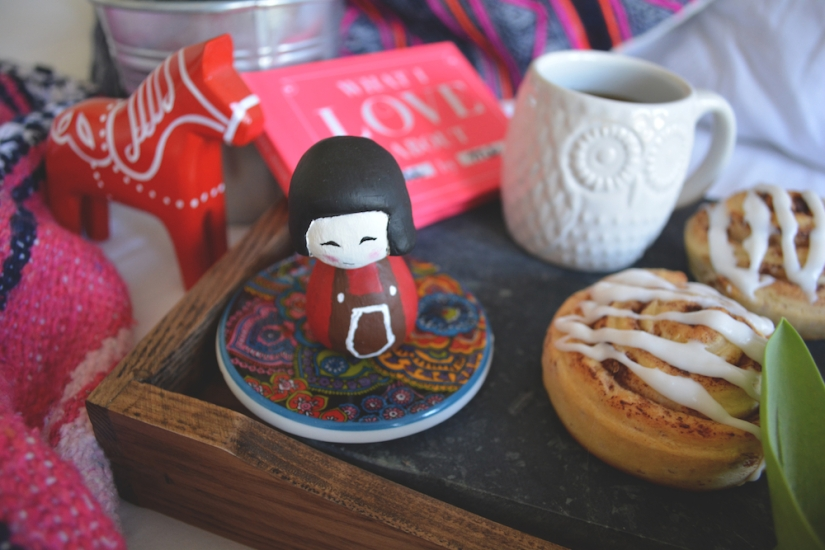 Gina Munsey | Oaxacaborn blog for Uncommon Goods | Kokeshi Ceramics, Dala Horse, What I love About You Book