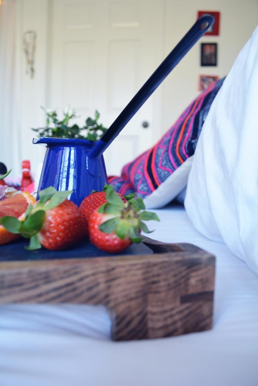 Gina Munsey | Oaxacaborn blog for Uncommon Goods | Enamelware Ladle from Yugoslavia