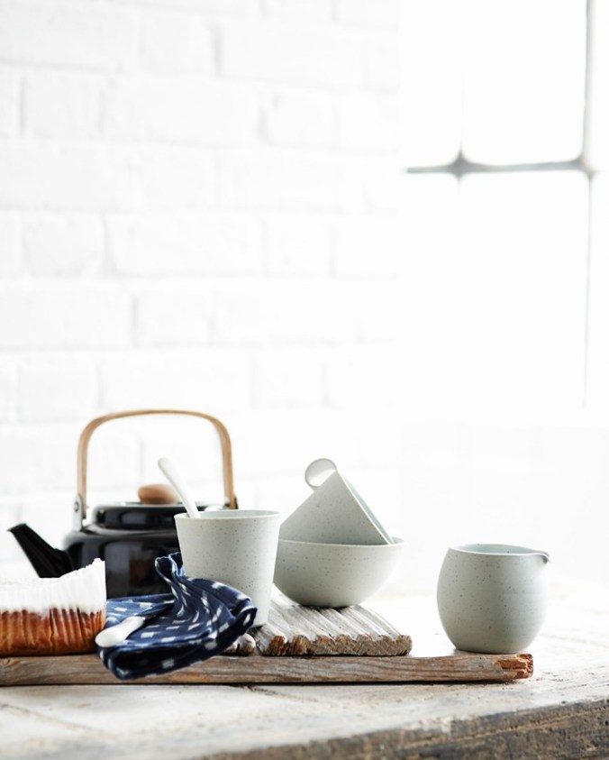 Toast UK SS15 House and Home Lookbook  -- Teapot and ceramics