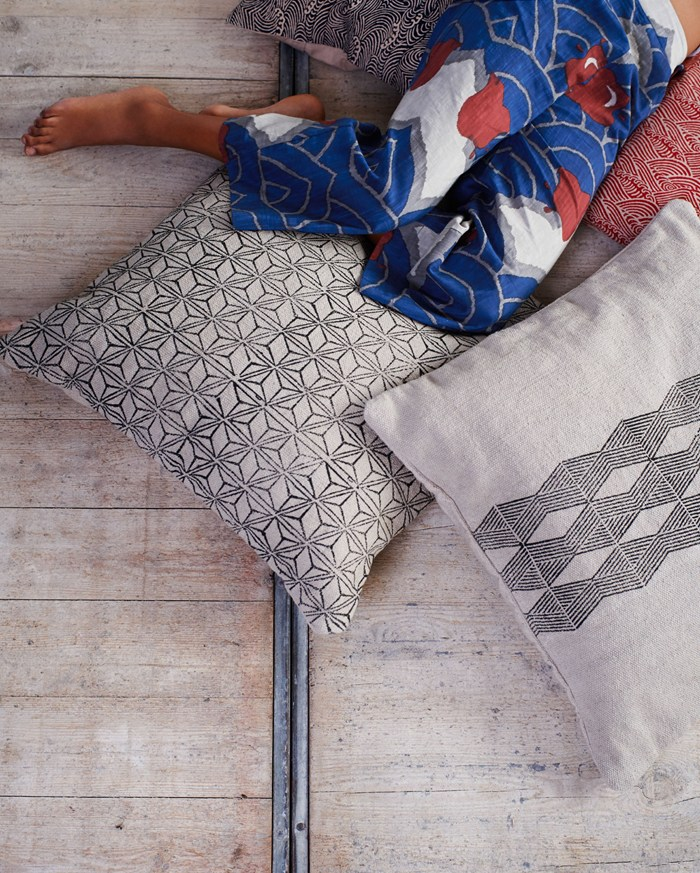 Toast UK SS15 House and Home Lookbook  -- Grey cushion covers