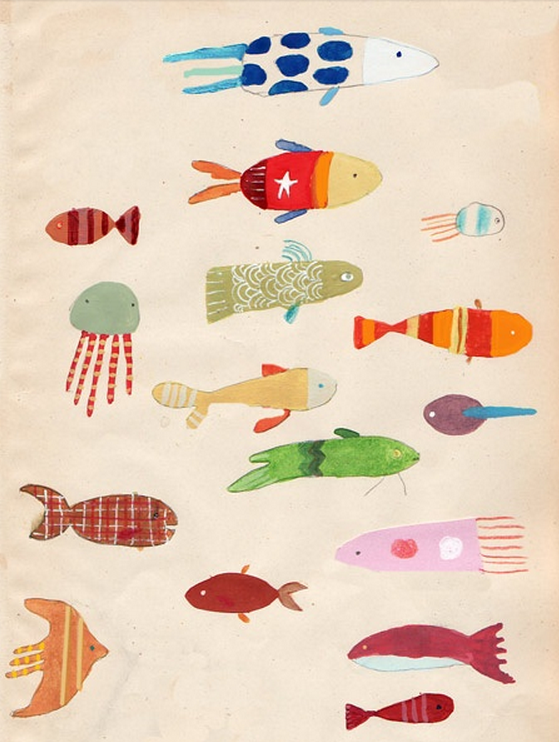 Oliver Jeffers Fish