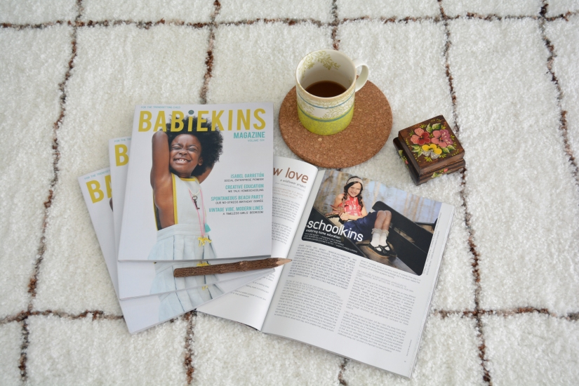 Babiekins Magazine - Trendsetting Kids Fashion Magazine for Children and Parents - Summer Print Issue 6