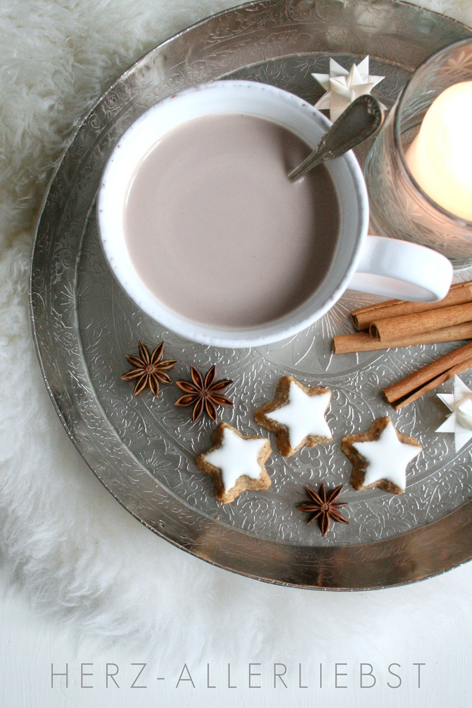 Herz Allerliebst - Coffee and Star Anise and Cinnamon and Stars