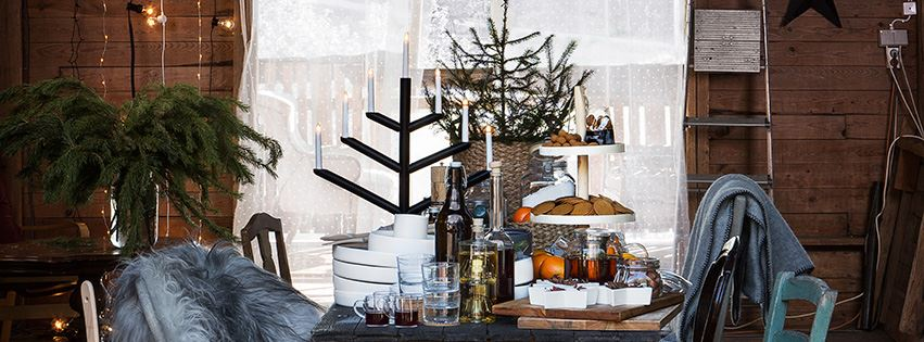 Scandinavian Christmas Granit And A Little Swedish Cabin The