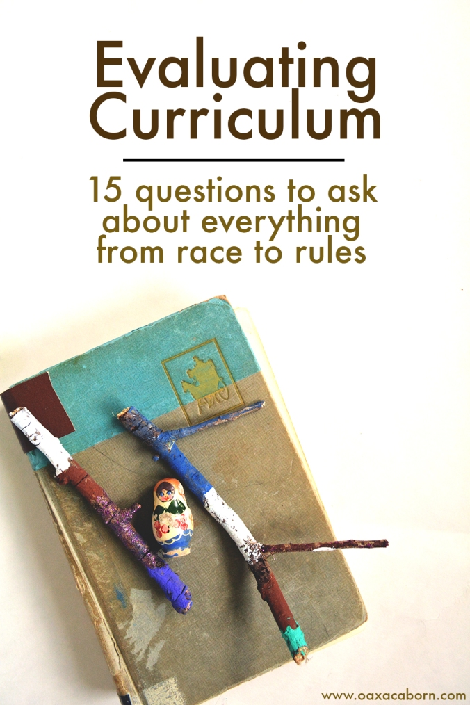 How to Choose Homeschool Curriculum and Evaluate Its Worldview: 15 Questions to Ask on Everything from Race to Rules