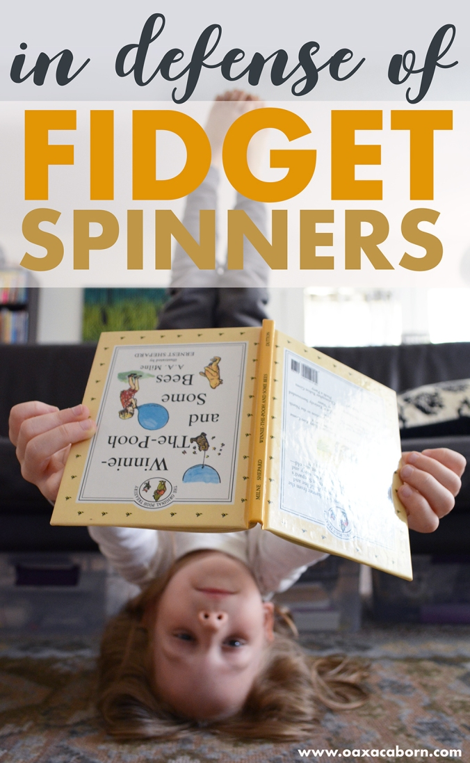 In Defense of Fidget Spinners