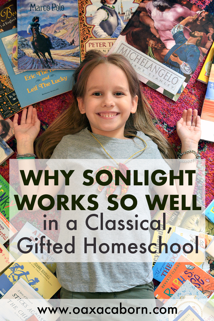 Why Sonlight is A Great Match for Classical Gifted Homeschooling