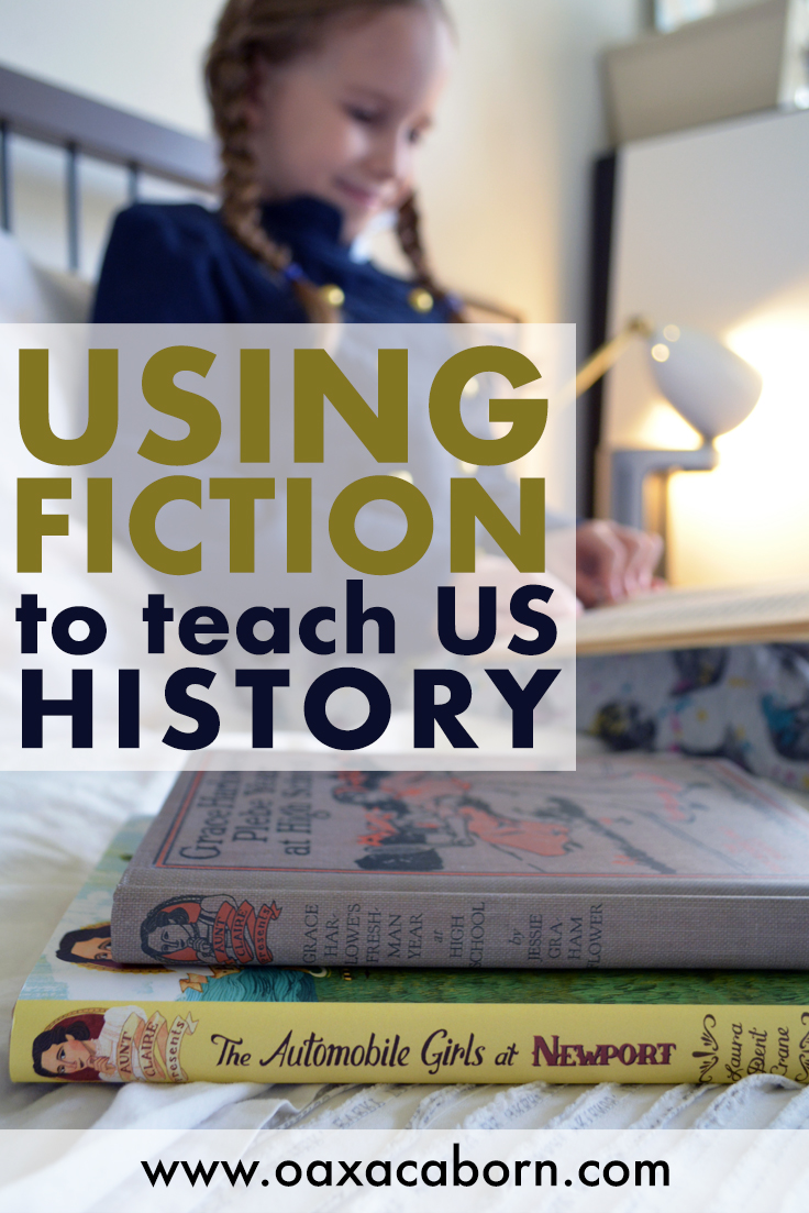 Using Middle-Grade Fiction Books to Teach US History, Geography, Music, Vocabulary and More (FREE Printables!): Aunt Claire Presents, Published by Laboratory Books