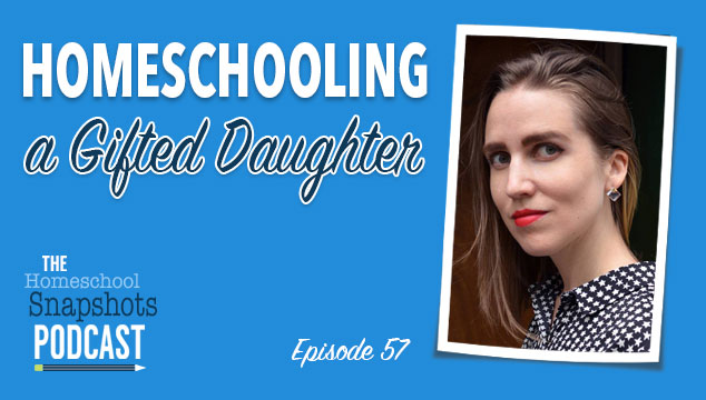 Homeschool Snapshots podcast Gina Munsey gifted homeschooling