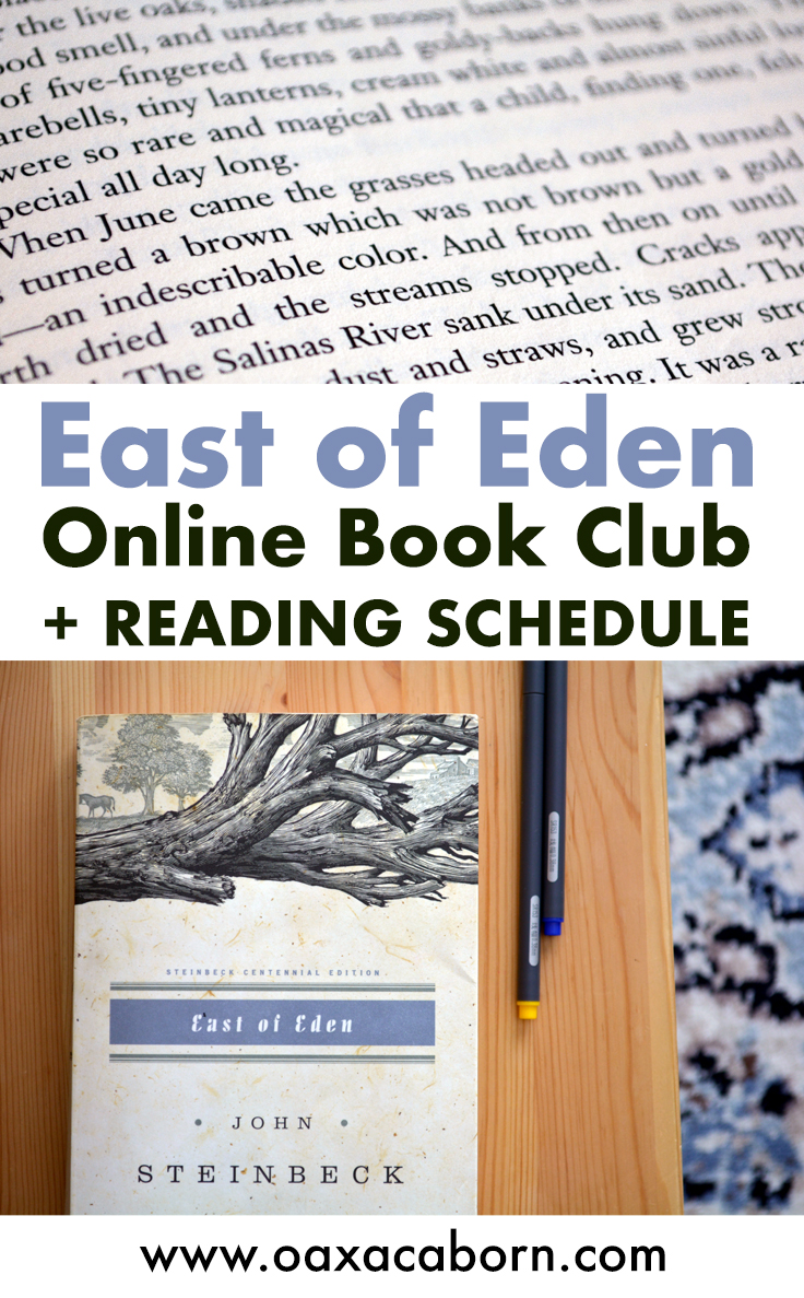 East of Eden Book Club hosted by The Oaxacaborn Homeschool Community