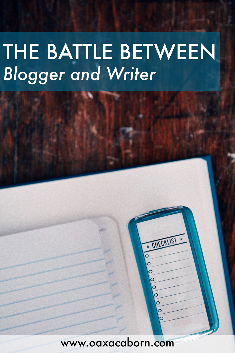 The Battle Between Blogger and Writer